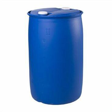 Пластиковая бочка 227 литров с пробками