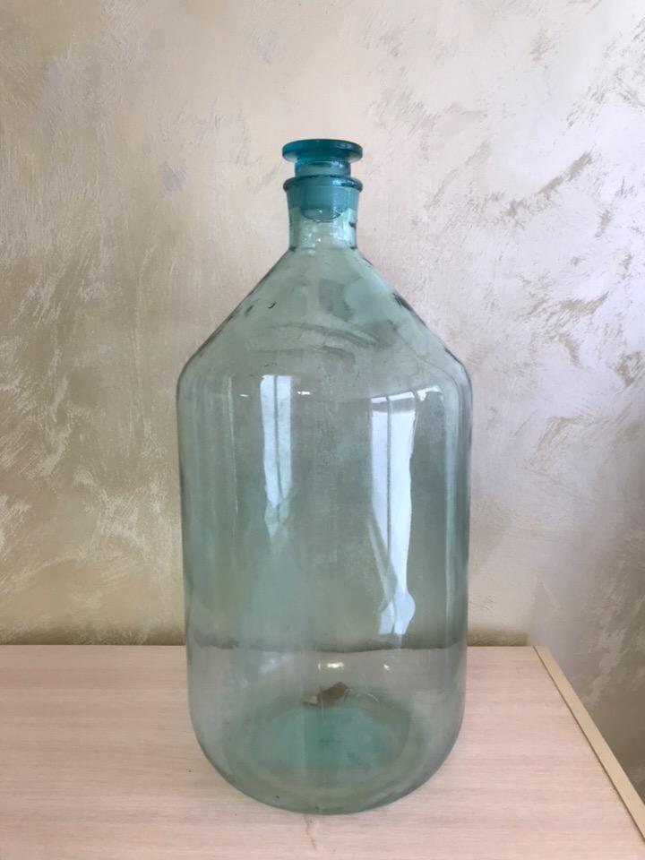 Бутыль стеклянная 20 л б/у