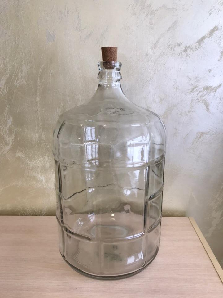 Бутыль стеклянная 19 литров