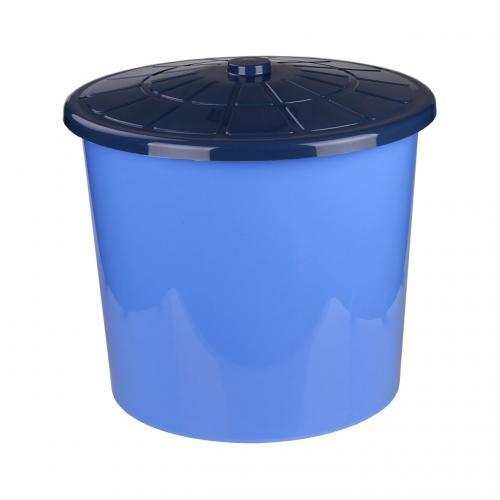 Бак для воды из пластика с крышкой 75 литров
