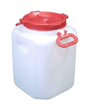 Бочка 40 литров квадратная