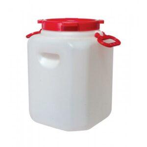 Бочка квадратная пищевая 30 литров