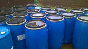 Бочки пластиковые бу 160 литров