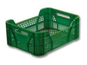 Ящик для овощей и фруктов перфорированный 400Х300Х155 мм