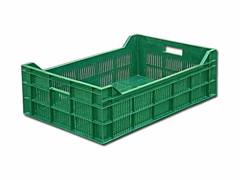Пластиковый ящик для фруктов 600х400х150 мм