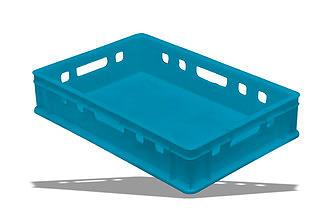 Пластиковый ящик Е1 600х400х120 мм
