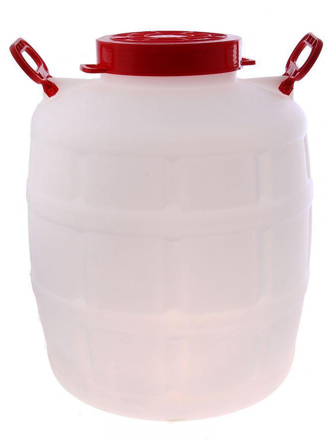 Канистра-Бочонок 75 литров с ручками