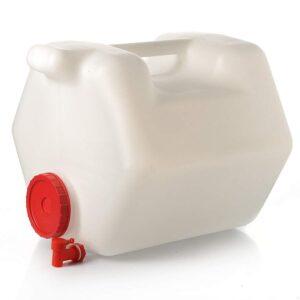 Пищевая канистра пластиковая 40 литров с опорной стороной