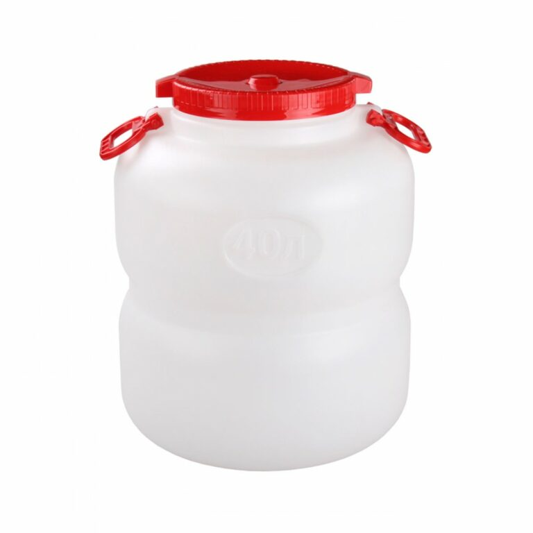 Канистра-бочка 40 литров с навесными ручками
