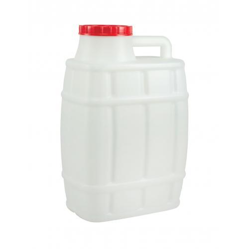 """Канистра с широким горлом """"Бочонок"""" 15 литров"""