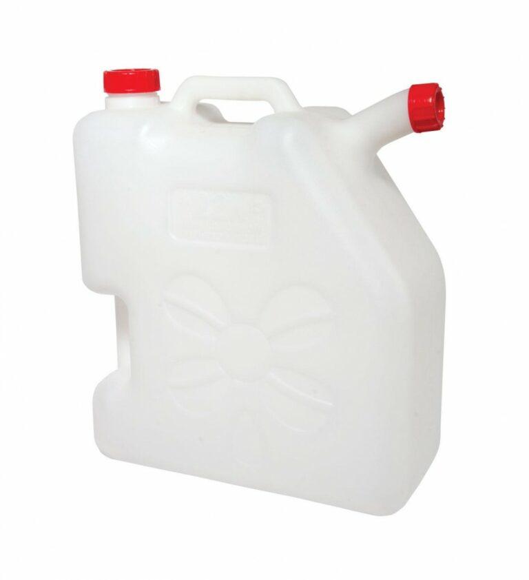 Пластиковая канистра со сливом 22 литра