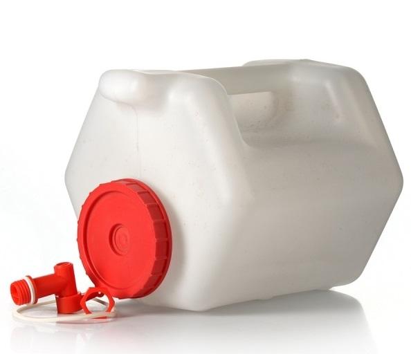Канистра с опорной стороной 10 литров (с краником)