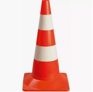 Конус дорожный сигнальный ( 520 мм) полосы краска 2.4
