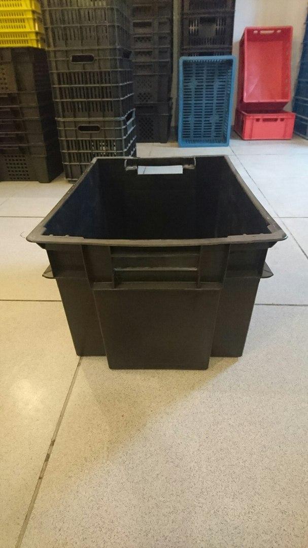 Мясной пластиковый ящик 600x400x300 мм