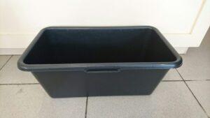 Строительный таз прямоугольный пластиковый 65 л
