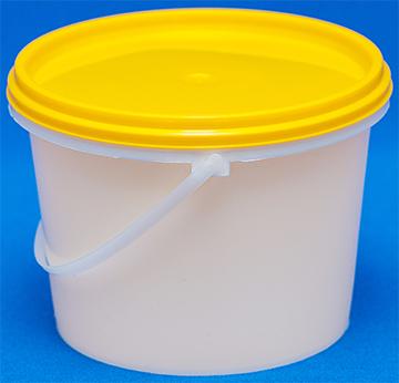 Ведро пластиковое пищевое 0,8 литра