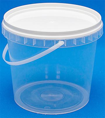 Пластиковое ведро 1 литр