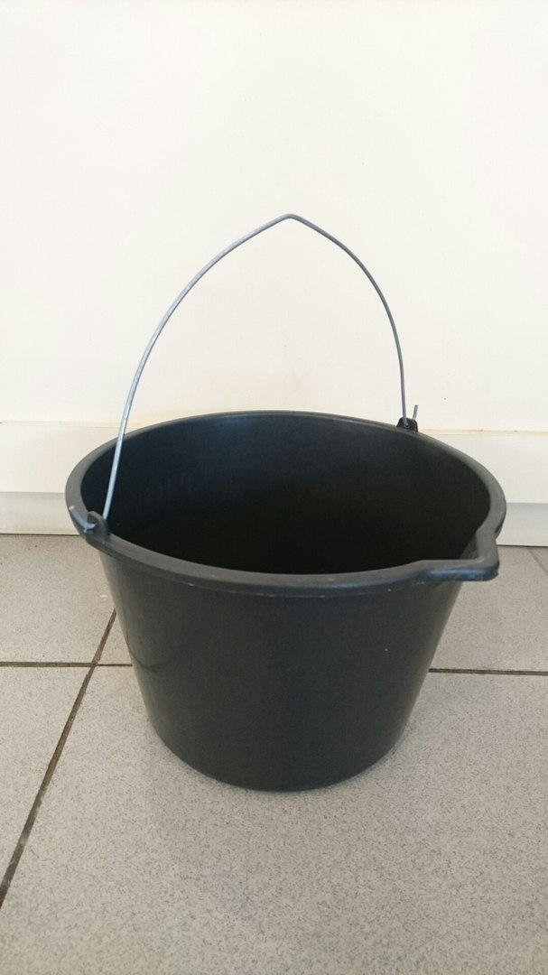 Ведро пластиковое строительное 20 литров