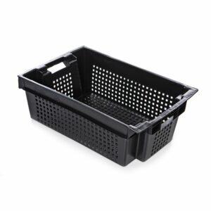 Ящик для хранения овощей 600x400x200 мм (черный)
