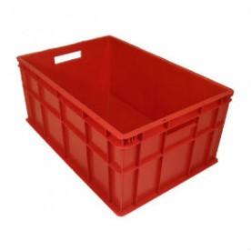 Ящик пластиковый 600x400x260 мм (перфорированный)